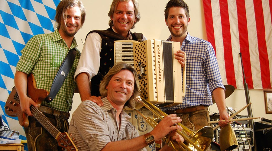 One of Hofbrauhaus Las Vegas most recognized bands, Die Trenkwalder