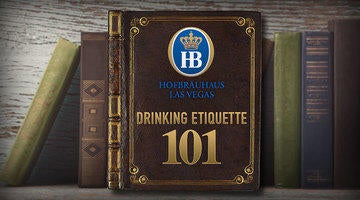 Learn the proper way to drink at Hofbrauhaus Las Vegas in this blog post