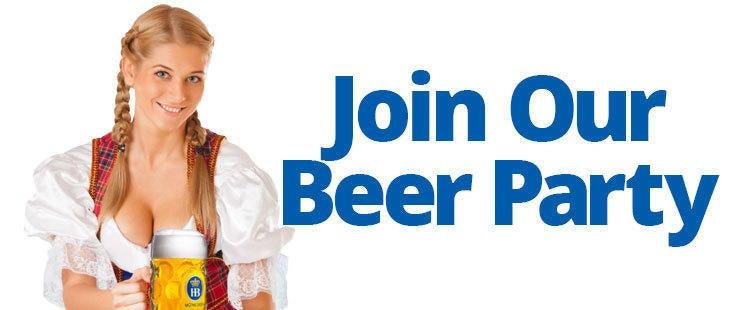 Join Our Beer Party - The Beer