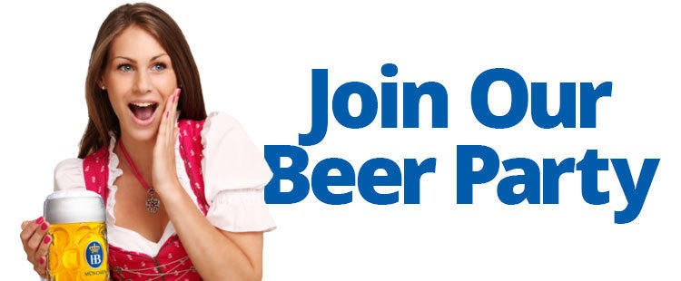 Join Our Beer Party - Experience