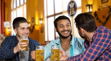 Enjoy a cold brew with friends at Las Vegas' biggest beer hall