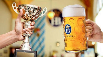 Learn how you can become the next Masskrugstemmen (Stein-holding) champion