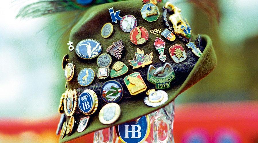 Oktoberfest Tyrolean Hat
