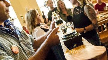 Hofbrauhaus Las Vegas prepares fun shotski for guests