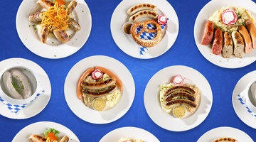 If you like sausage, the only place you need to go is Hofbrauhaus Las Vegas